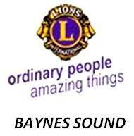 LIONS CLUB OF BAYNES SOUND Organization