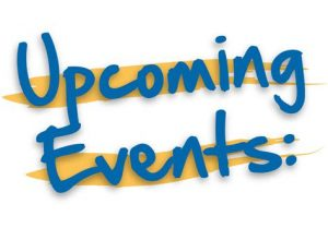 VCGS upcoming events