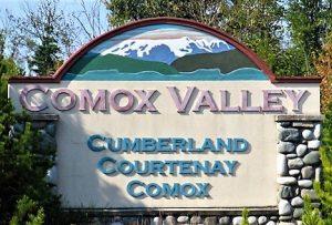 Comox Valley Sign